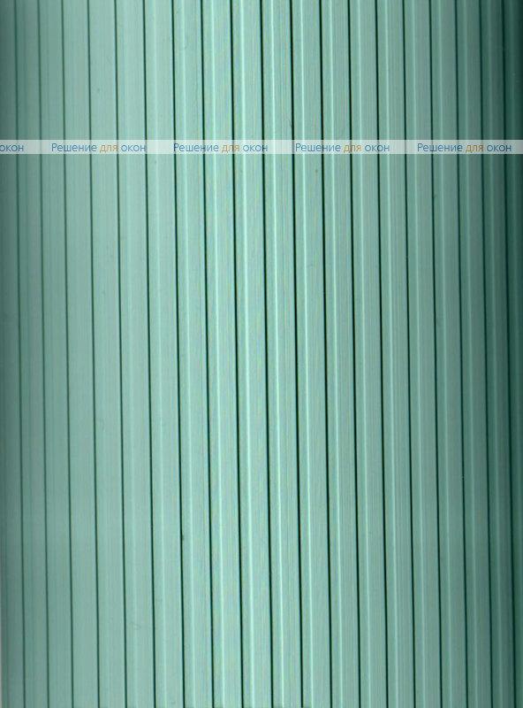 Вертикальные ламели ( без карниза ) платиковые РИБКОРД зеленый от производителя жалюзи и рулонных штор РДО