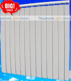 Жалюзи вертикальные ДОЖДЬ 01 белый от производителя жалюзи и рулонных штор РДО
