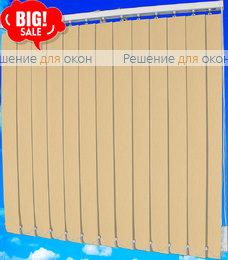 Жалюзи вертикальные ДОЖДЬ 04 персик от производителя жалюзи и рулонных штор РДО