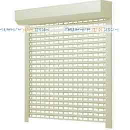 Рольставни для витрин, Профиль AEG56 Бежевый от производителя жалюзи и рулонных штор РДО