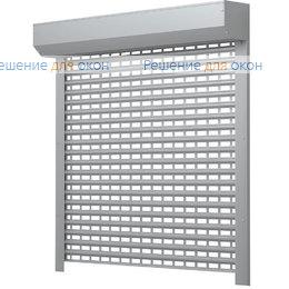Рольставни для витрин, Профиль AEG56  Серый от производителя жалюзи и рулонных штор РДО