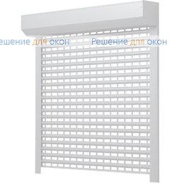 Решетчатые рольставни, Профиль AEG84  Белый от производителя жалюзи и рулонных штор РДО