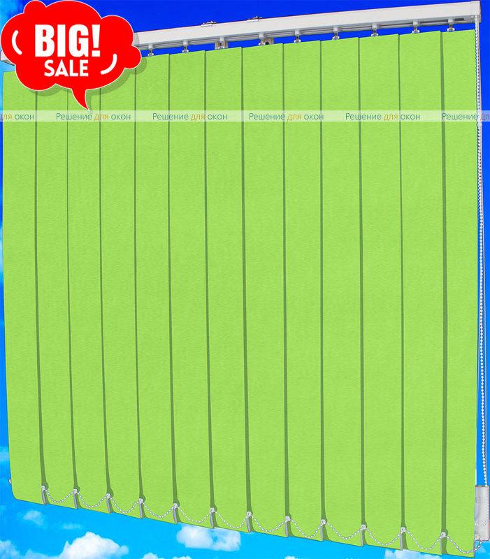 Жалюзи вертикальные РЕСПЕКТ 28 зеленый от производителя жалюзи и рулонных штор РДО