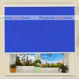 B 27 для проема, Коробные рулонные шторы B 27 АЛЛЕГРО Б/О 5207 имперский синий от производителя жалюзи и рулонных штор РДО
