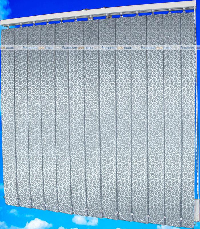 Жалюзи вертикальные РОКОКО 1881 серый от производителя жалюзи и рулонных штор РДО