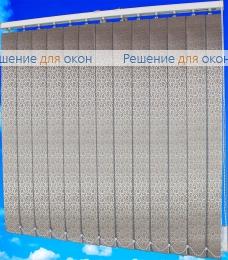 Жалюзи вертикальные РОКОКО 2870 коричневый от производителя жалюзи и рулонных штор РДО