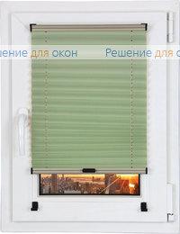Шторы плиссе.Рона 4182, салатовый от производителя жалюзи и рулонных штор РДО