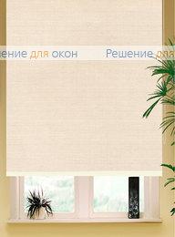 РК-65 Бокс квадрат на большие окна, Коробные рулонные шторы РК-65 Бокс квадрат АЛЛЕГРО Б/О 2398 пудровый от производителя жалюзи и рулонных штор РДО