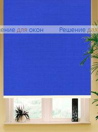 РК-65 Бокс квадрат на большие окна, Коробные рулонные шторы РК-65 Бокс квадрат АЛЛЕГРО Б/О 5207 имперский синий от производителя жалюзи и рулонных штор РДО