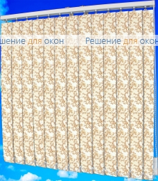 Жалюзи вертикальные САКУРА 1 вечер от производителя жалюзи и рулонных штор РДО