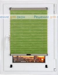 Шторы плиссе.Самоа 02, салатовый от производителя жалюзи и рулонных штор РДО