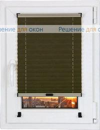 Шторы плиссе.Самоа 03, коричневый от производителя жалюзи и рулонных штор РДО