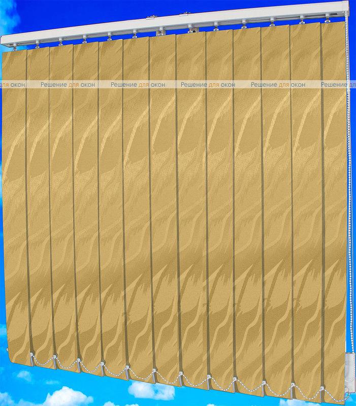 Жалюзи вертикальные САНДРА 2746 темно-бежевый от производителя жалюзи и рулонных штор РДО