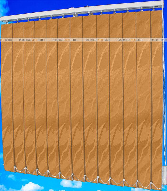 Жалюзи вертикальные САНДРА 2854 табачный от производителя жалюзи и рулонных штор РДО