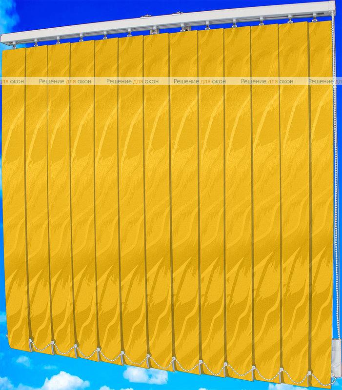 Жалюзи вертикальные САНДРА 3465 желтый от производителя жалюзи и рулонных штор РДО