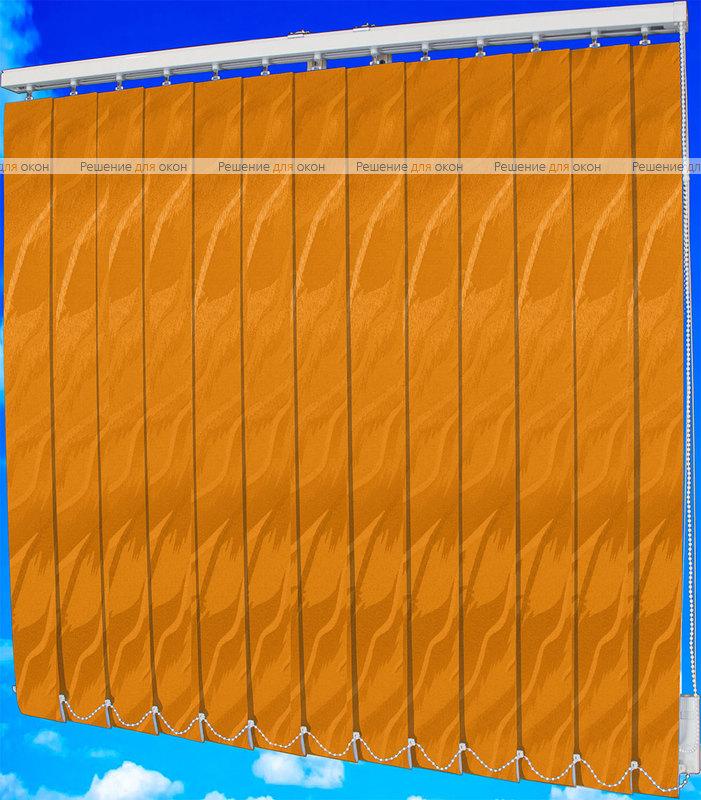 Жалюзи вертикальные САНДРА 4290 оранжевый от производителя жалюзи и рулонных штор РДО