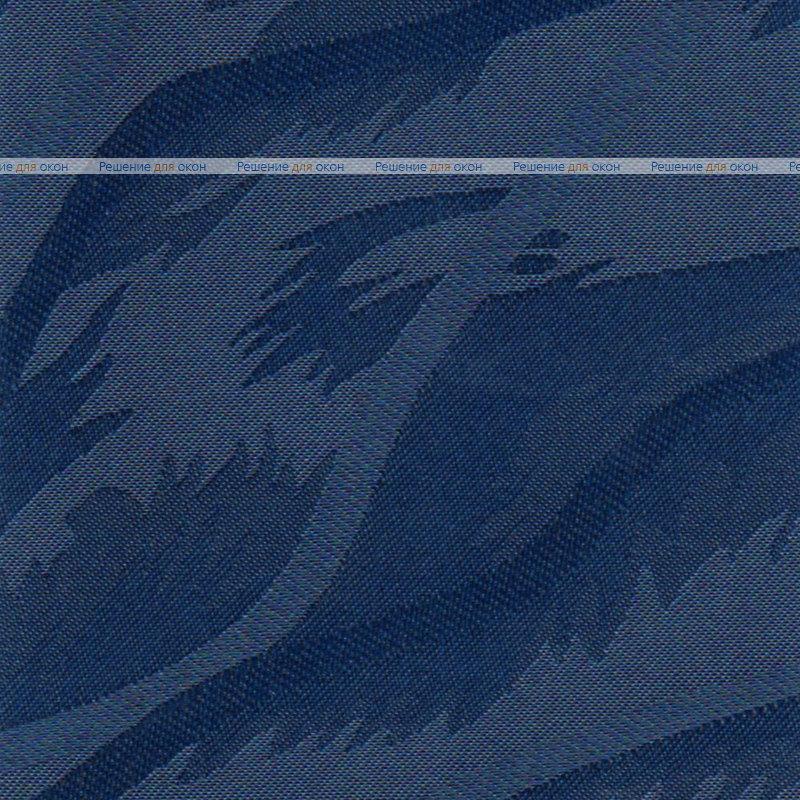 Вертикальные ламели ( без карниза ) САНДРА 5470 синий от производителя жалюзи и рулонных штор РДО