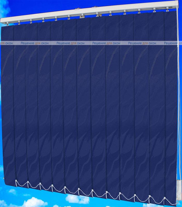 Жалюзи вертикальные САНДРА 5470 синий от производителя жалюзи и рулонных штор РДО