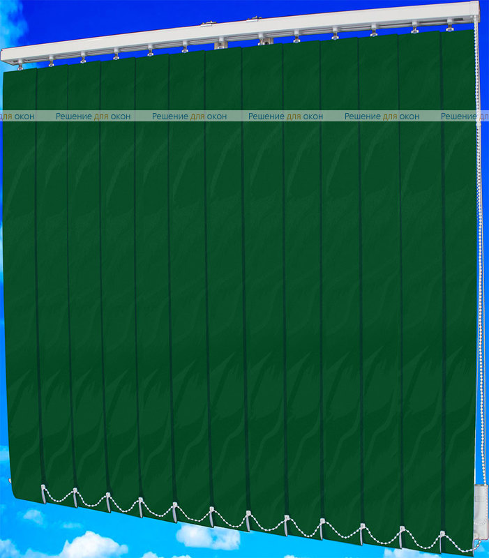 Жалюзи вертикальные САНДРА 5921 темно-зеленый от производителя жалюзи и рулонных штор РДО