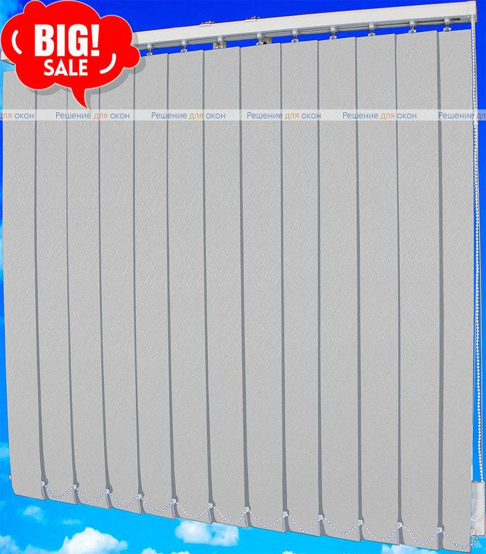 Жалюзи вертикальные САХАРА 01 белый от производителя жалюзи и рулонных штор РДО