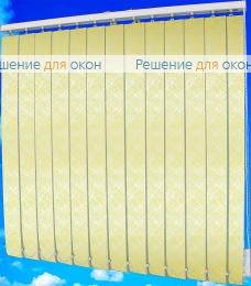 Жалюзи вертикальные СФЕРА 3465 желтый от производителя жалюзи и рулонных штор РДО