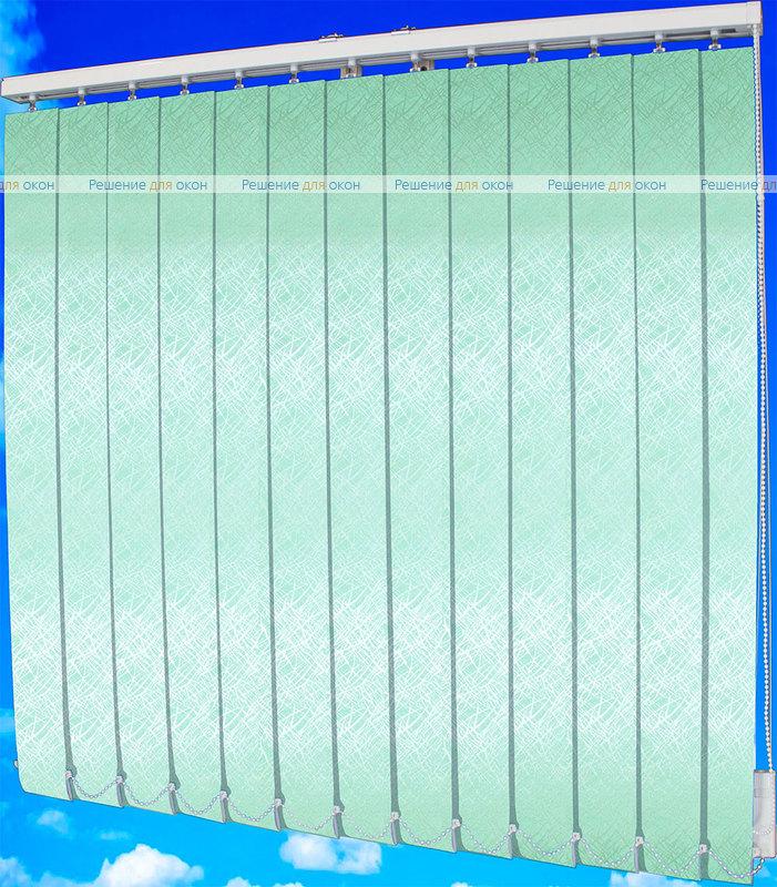 Жалюзи вертикальные СФЕРА 5850 зеленый от производителя жалюзи и рулонных штор РДО