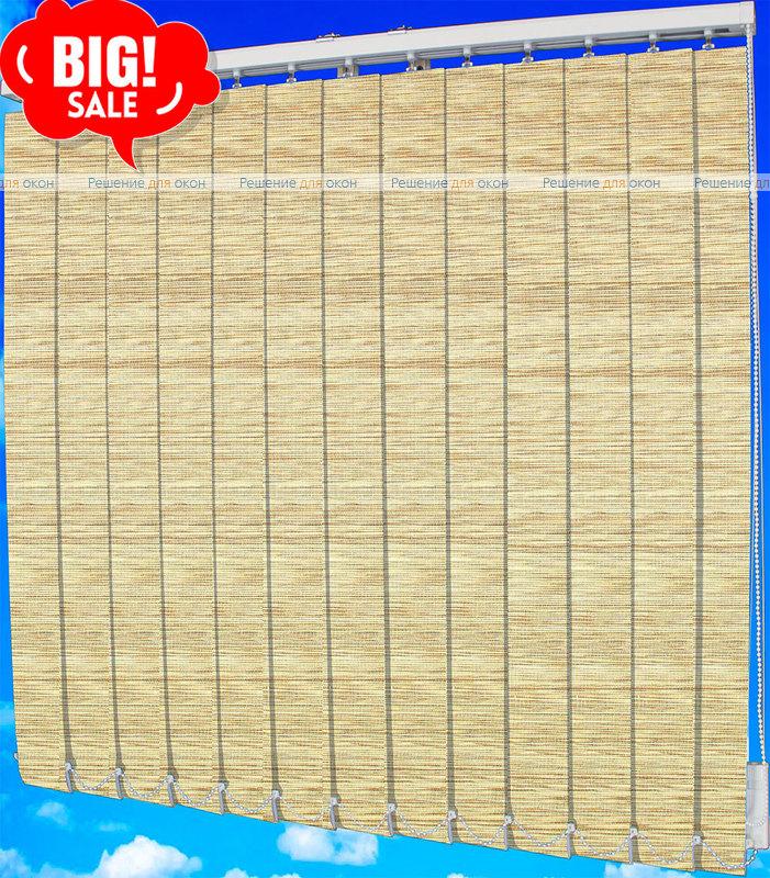 Жалюзи вертикальные ШИКАТАН 022 чайная церемония бежевый от производителя жалюзи и рулонных штор РДО
