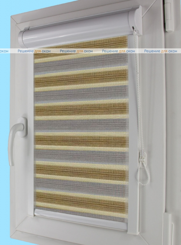 Уни плюс Зебра  СТРИП 4 от производителя жалюзи и рулонных штор РДО