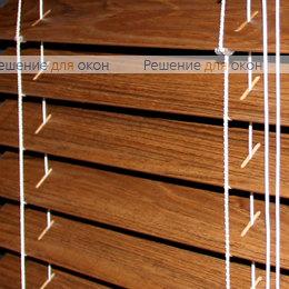 Жалюзи горизонтальные 50 мм, арт. Teak ламинация от производителя жалюзи и рулонных штор РДО