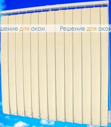 Жалюзи вертикальные ТЕХНО блэкаут 22 слоновая кость от производителя жалюзи и рулонных штор РДО