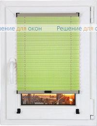 Шторы плиссе.Тирас 4163, зеленый от производителя жалюзи и рулонных штор РДО