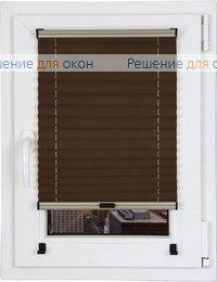 Шторы плиссе.Того 017, темно-коричневый от производителя жалюзи и рулонных штор РДО