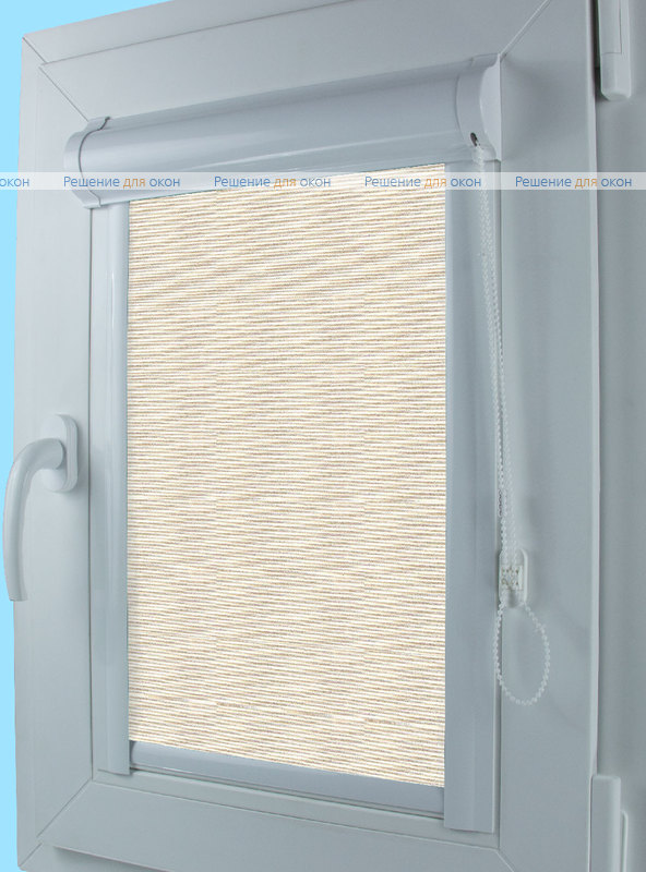 Уни ЭКО 31 кремовый от производителя жалюзи и рулонных штор РДО