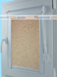 Уни на створку окна, Уни АЛЛЕГРО ЛЁН 1030 от производителя жалюзи и рулонных штор РДО