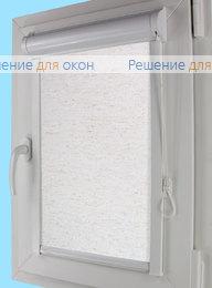 Уни плюс на створку окна, Уни плюс АЛЛЕГРО ЛЁН 1001 от производителя жалюзи и рулонных штор РДО