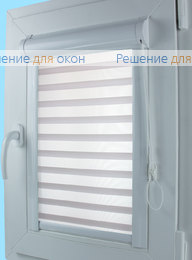 Уни Зебра на створку окна, Уни Зебра Виссон 102 от производителя жалюзи и рулонных штор РДО