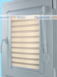 Уни Зебра на створку окна, Уни Зебра Виссон 105 от производителя жалюзи и рулонных штор РДО