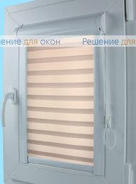 Уни Зебра на створку окна, Уни Зебра Виссон 106 от производителя жалюзи и рулонных штор РДО