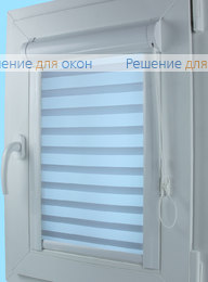 Уни Зебра на створку окна, Уни Зебра Виссон 113 от производителя жалюзи и рулонных штор РДО