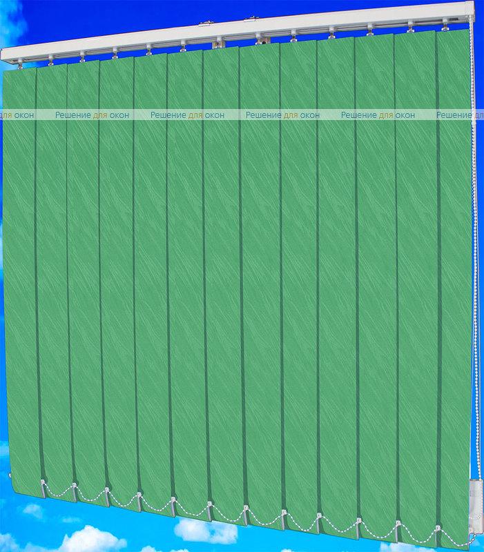 Жалюзи вертикальные ВЕНЕЦИЯ 26 салатовый от производителя жалюзи и рулонных штор РДО