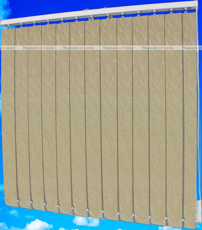 Жалюзи вертикальные ВЕНЕЦИЯ 07 бежевый от производителя жалюзи и рулонных штор РДО