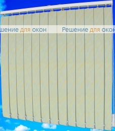 Жалюзи вертикальные ВЕНЕЦИЯ Блэкаут 05 желтый от производителя жалюзи и рулонных штор РДО