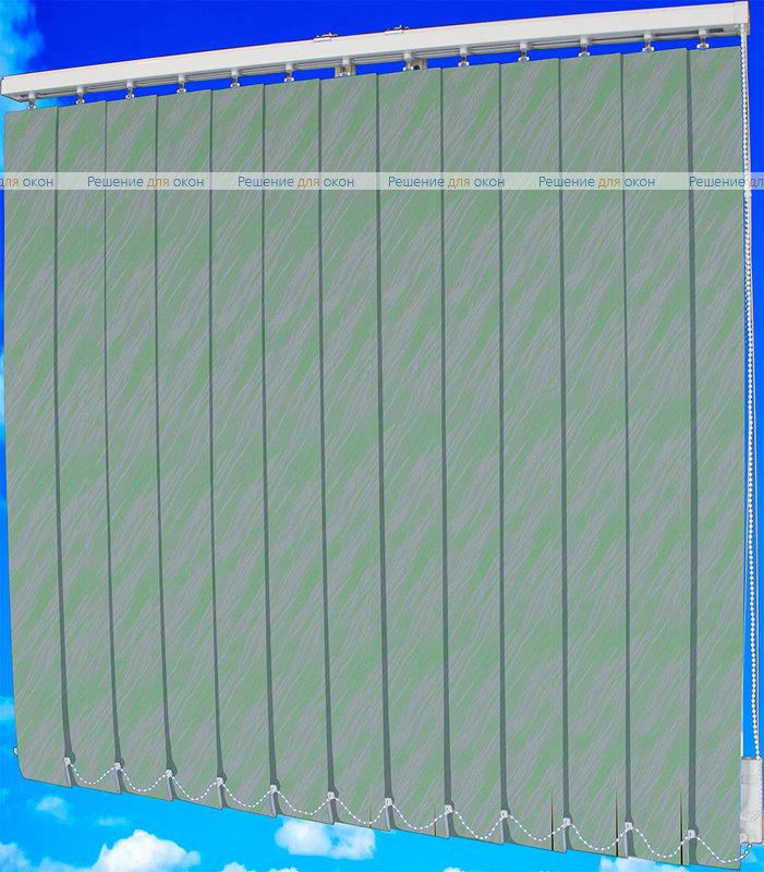 Жалюзи вертикальные ВЕНЕРА 5992 зеленый от производителя жалюзи и рулонных штор РДО