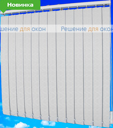 Жалюзи вертикальные ДУБАЙ 01 белый от производителя жалюзи и рулонных штор РДО