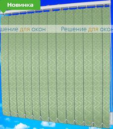 Жалюзи вертикальные ДУБАЙ 28 оливковый от производителя жалюзи и рулонных штор РДО