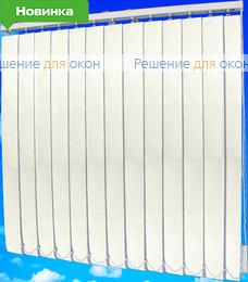 Жалюзи вертикальные МИРАЖ 01 белый от производителя жалюзи и рулонных штор РДО