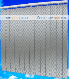 Жалюзи вертикальные ВИКТОРИЯ 2868 св.-коричневый от производителя жалюзи и рулонных штор РДО