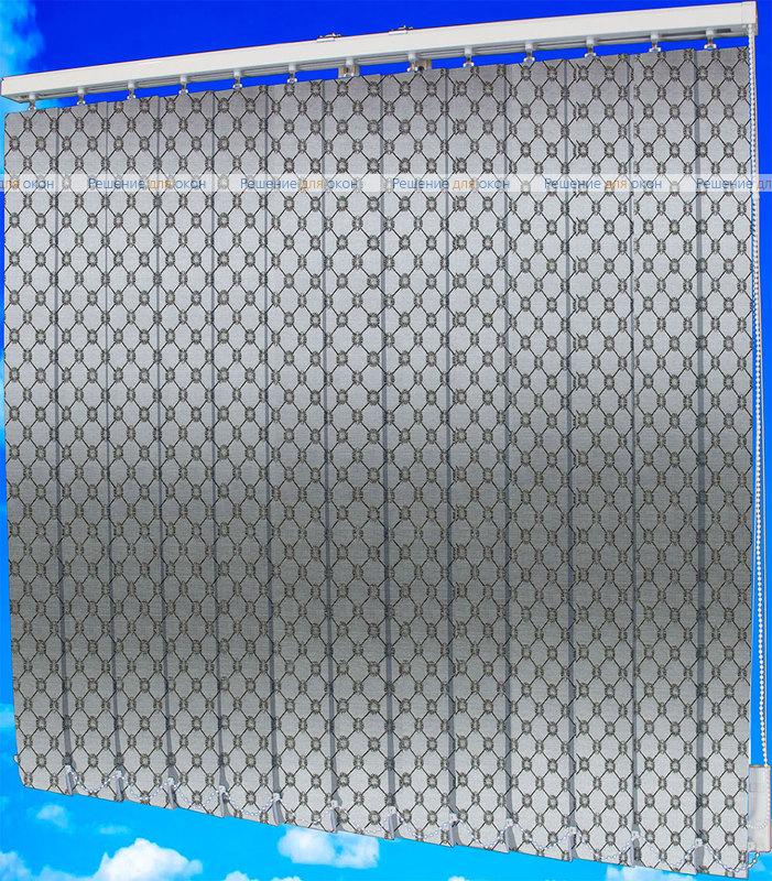 Жалюзи вертикальные ВИКТОРИЯ 2871 коричневый от производителя жалюзи и рулонных штор РДО