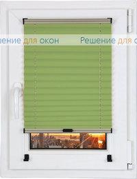Прямоугольные формы, Шторы плиссе.Виста перл 4163, лаймовый от производителя жалюзи и рулонных штор РДО