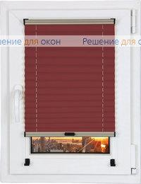 Прямоугольные формы, Шторы плиссе.Виста перл 8186, красный от производителя жалюзи и рулонных штор РДО
